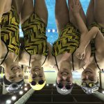 Girls Varsity Swimming beats Crawfordsville 94 – 91