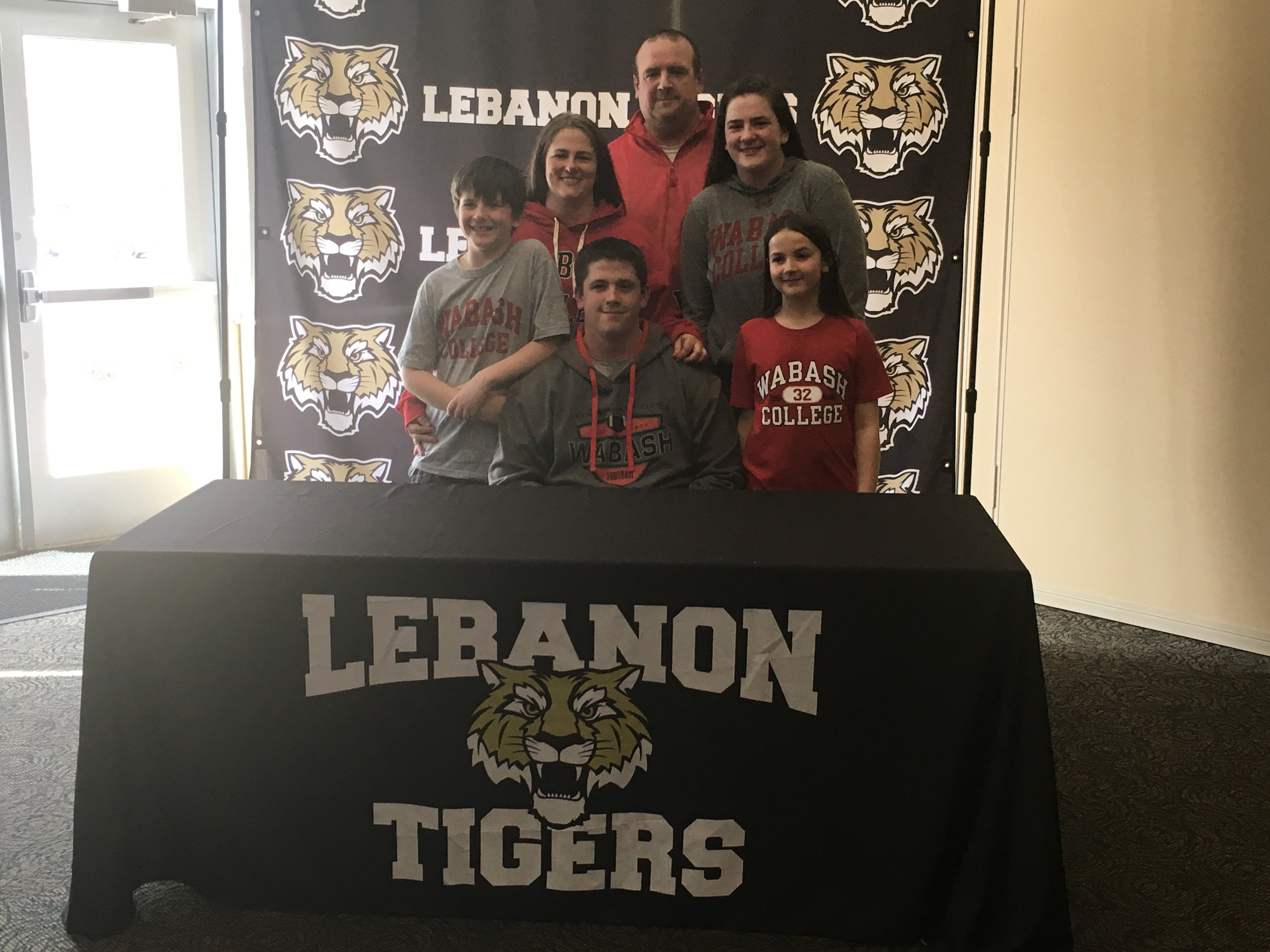 Congratulations Willie Kadel Signed to play Football at Wabash College