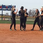 Girls Varsity Softball beats Western Boone Jr-Sr High Sch 8 – 5