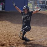 Girls Varsity Softball beats Tri-West 6 – 2