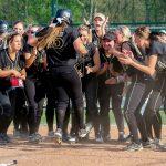 Girls Varsity Softball beats Danville Community High Sch 9 – 6