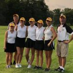 Girls Varsity Golf finishes 5th of 17 teams at Western Boone Invite
