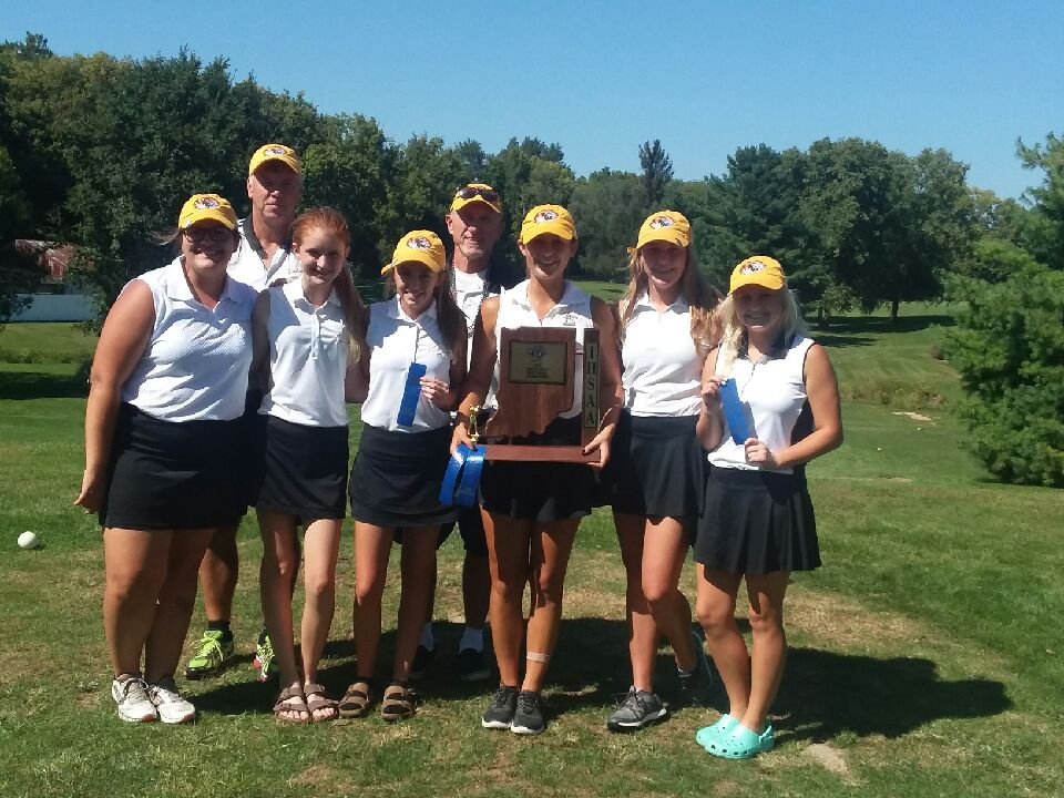 Congrats to the Lebanon Lady Tigers Golf Team: Sectional Champions!  Katherine Patterson Medalist!