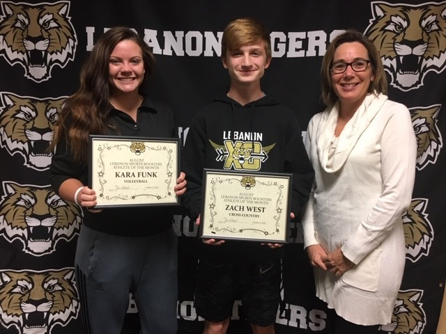 Congrats LSBA Male and Female Athlete for the month of August