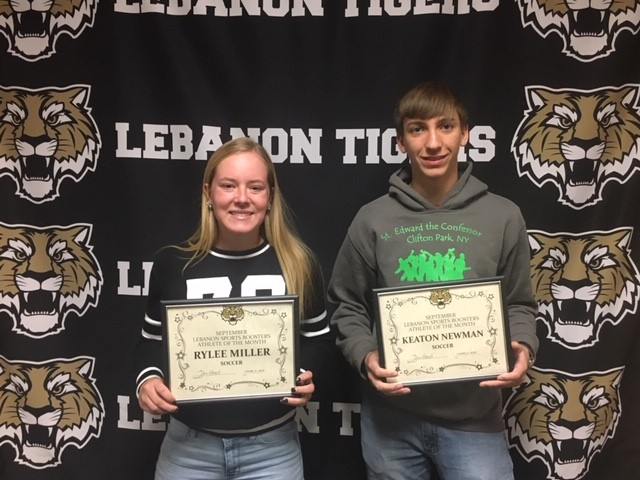 Congrats LSBA Male and Female Athlete for the month of September