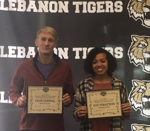 Congrats LSBA Male and Female Athlete for the month of November