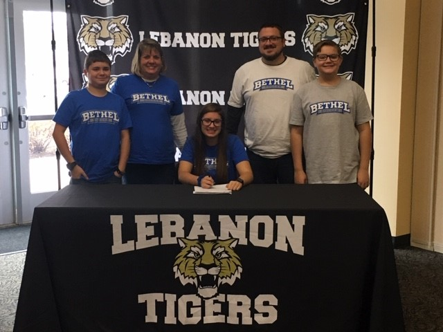 Congrats LHS Senior Alyna Sell! Signed to play Soccer at Bethel College.
