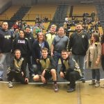 Wrestlers Celebrate Senior Night versus Zionsville