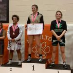 Congratulations LHS Senior Wrestler Alexis Bernal: Captured 3rd straight 145 lbs. State Title Championship