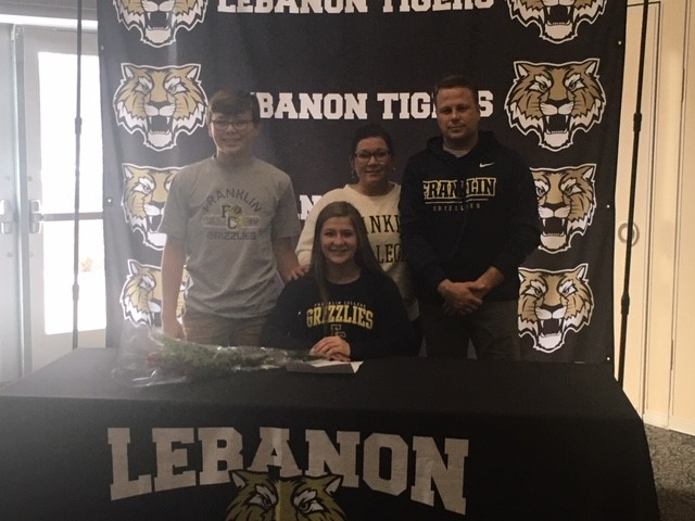 Congrats Lilly Haines: Signed to play Soccer next year at Franklin College