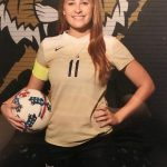 LHS Kirstin Byrd signing to attend and play soccer at Huntington University Monday, February, 25th 3 p.m. in Community Room #1.