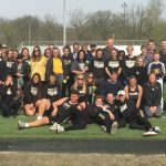LHS Track & Field Celebrate Victories over Frankfort and Sheridan on Senior Night