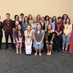 Congratulations to LHS Top 20 Students, TIGER PRIDE!