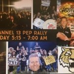 WTHR Operation Football PEP Rally Friday 5 AM