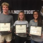 Congrats LSBA Athletes of the Month: Carson Burtron, Irene Ransom and Summer Stogsdill