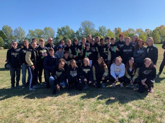 GOOD LUCK TO LHS BOYS & GIRLS CROSS COUNTRY TEAMS