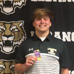 Congrats To Senior Football Player Drew Wilson: IHSAA Sportsmanship Pin Recipient