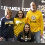 Congrats To LHS Senior Abigail McPherson Signed to Play Softball at Marian University