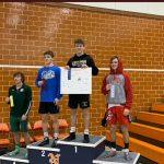 Congrats Camren Toole 126 lbs. Regional Wrestling Champion!