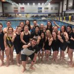 Congrats to the Lady Tigersharks on a great Performance at Sectionals & New School Record!