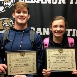 Congrats Lebanon Sports Booster Athletes of the Month: Lyla Barr and Michael Reese