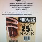 Boys Basketball To host Fundraiser with City Barbeque