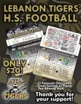 Purchase your LHS Football Discount Card Online and have mailed directly to your home!