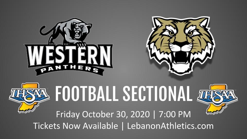 LHS Friday Night Sectional football Tickets vs. Western On Sale Now!