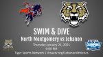 Stream Information for LHS Swim & Dive Meet vs. North Montgomery Thursday, 1/21