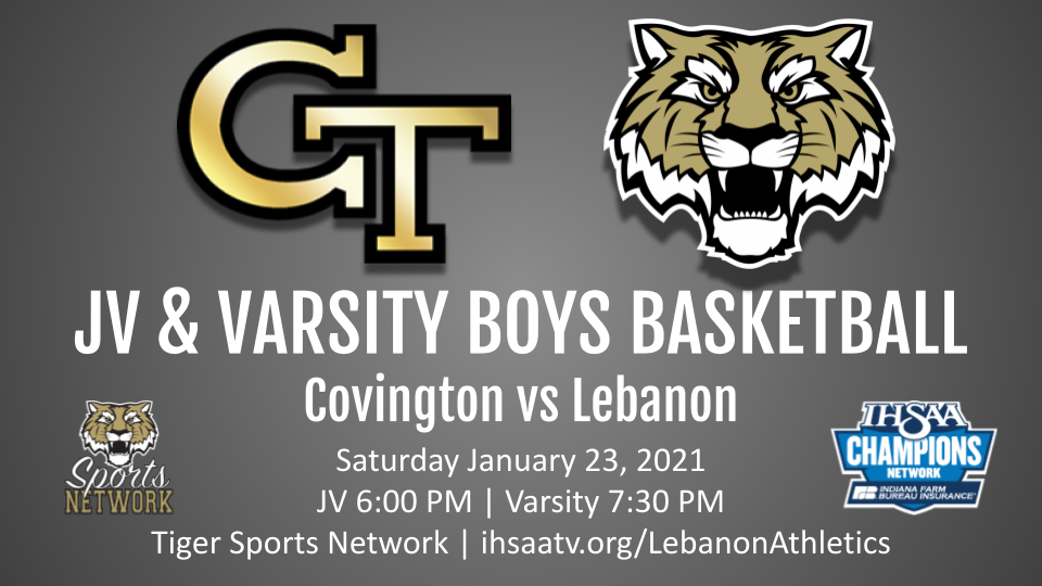 Saturday 1/23 Streaming Information Boys Basketball