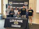 Congrats to LHS Lady Tiger Shark Morgan Lawson Signed to Swim at DePauw