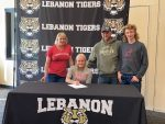 Congrats to Lady Tiger Golfer Kate Mayner: Signed to play Golf at Hanover College next year.