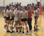 JV Volleyball goes 1-1 in Groesbeck Play-Day