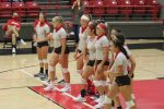 Lake Junior Varsity Volleyball Team aids in Sweep