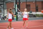 Varsity and JV Tennis Against Academy Rained Out