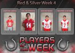 Red and Silver Football Players of the Week