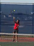 Varsity and JV Tennis Host Lago Vista