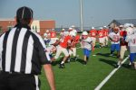 NBMS 7th Football splits with Midway Red