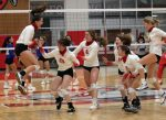 Broncos down Jarrell in five sets, hand Cougars first district loss