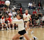 Broncos take district win over Gateway in four sets