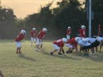 LBMS Football falls to Travis
