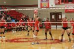 Freshmen VB duels Salado tough, drop pair of games