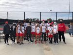 Lake Belton Broncos Tennis Wins 3-Way Tiebreaker to Secure Playoff Position