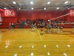 LBMS Volleyball: 8th Grade Broncos takes down SBMS Tigers