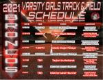 Varsity Girls Track Schedule