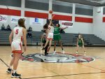 Freshman girls basketball falls to Burnet