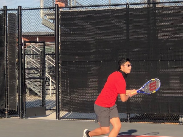 JV Spring Tennis Vs. Vanguard