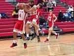 NBMS 8th B Basketball defeats BMS 40-18