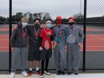 JV Tennis Competes in Temple Tournament
