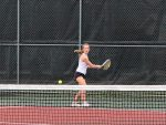Varsity Tennis at Temple Tournament